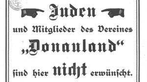 """""""Donauland"""" unerwünscht"""