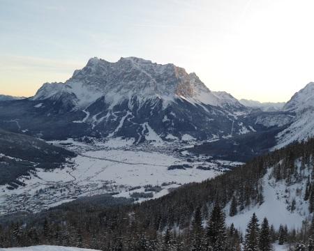 Zugspitze vom 20.12. 2012