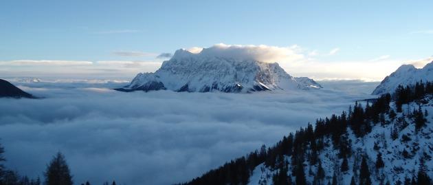Zugspitze 07.01.2013