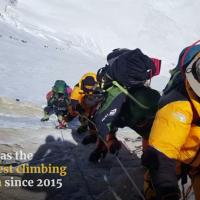 Everest once again: Entsorgen und Leichen bergen